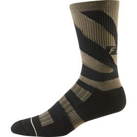 "Fox 8"" Trail Cushion Crew Socks Herren navy/orange"